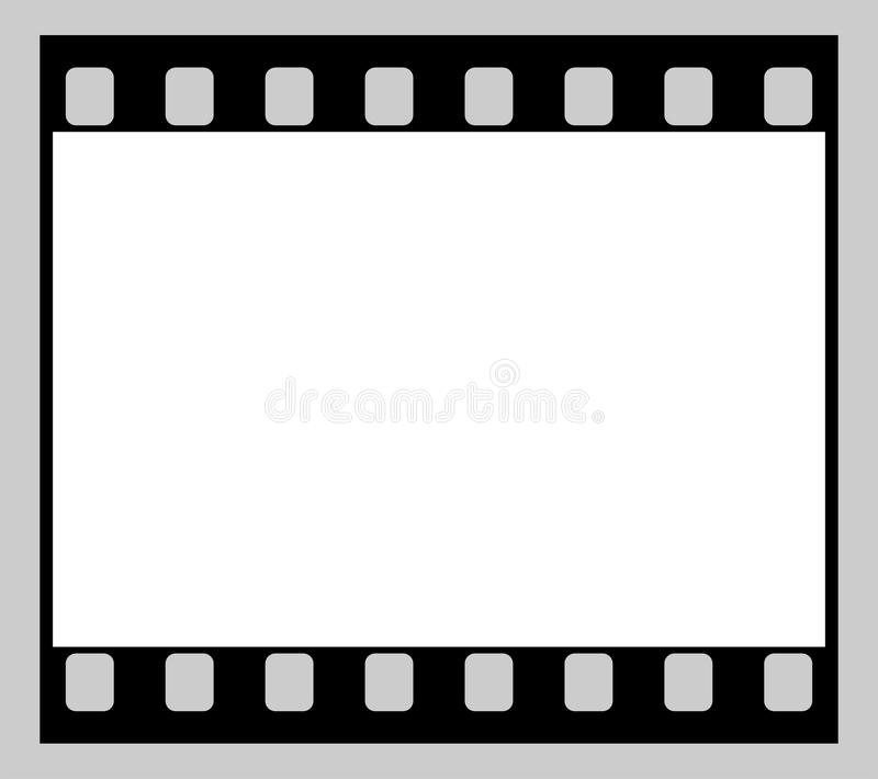 Filmstrook royalty-vrije stock afbeelding