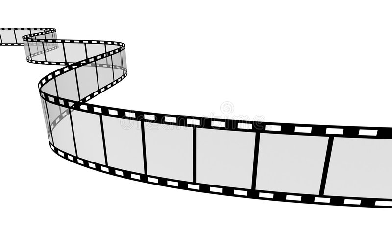De Strook van de film vector illustratie