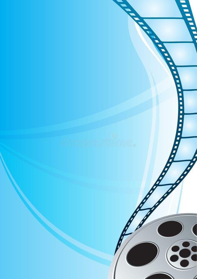 De strook van de film stock illustratie