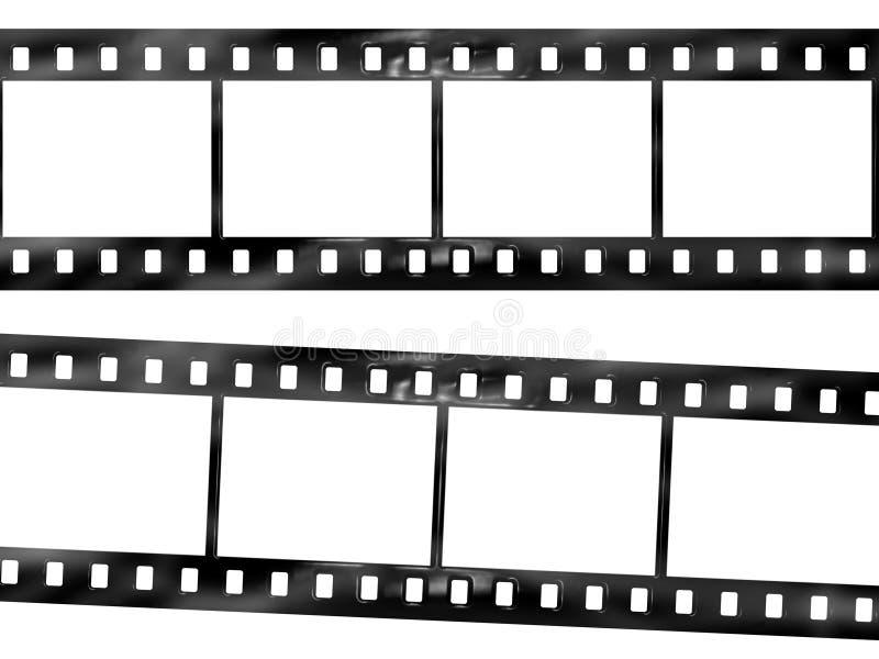 De strook van de film stock foto