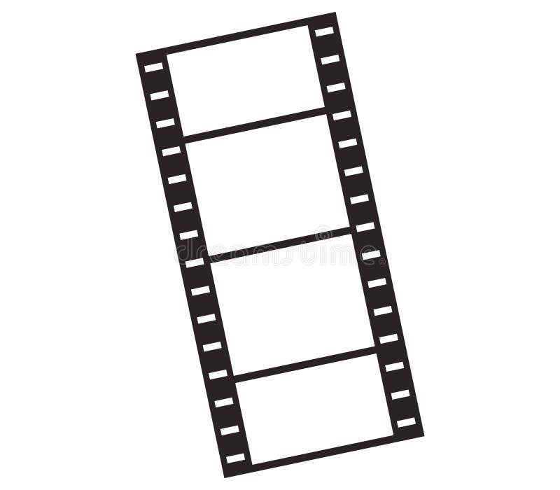 De strook van de pictogramfilm stock illustratie