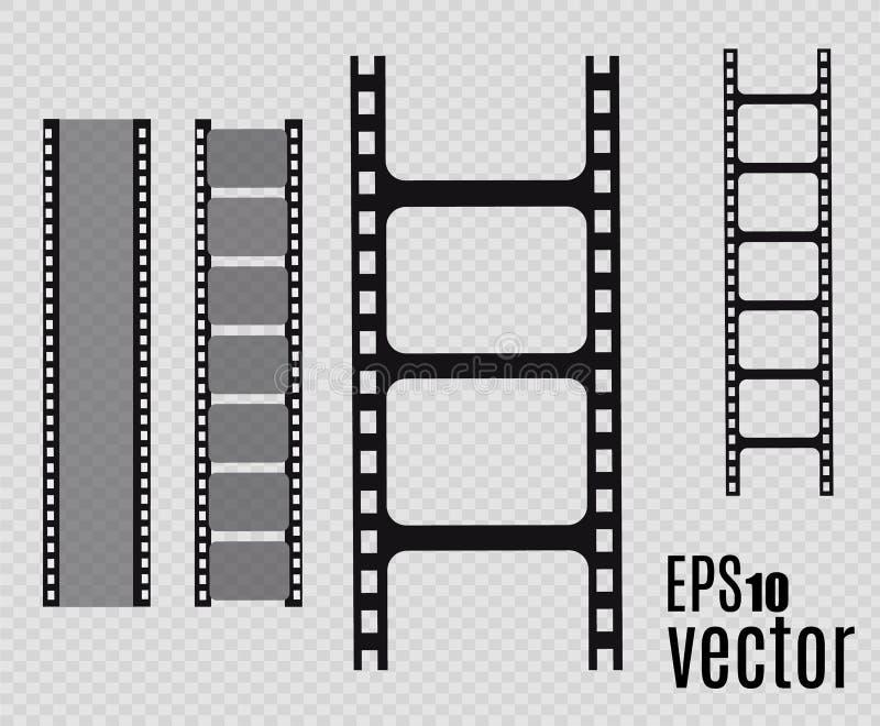 De Strook van de film Vector illustratie reeks royalty-vrije illustratie