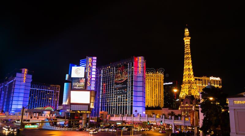 De Strook van Vegas van Las stock afbeeldingen