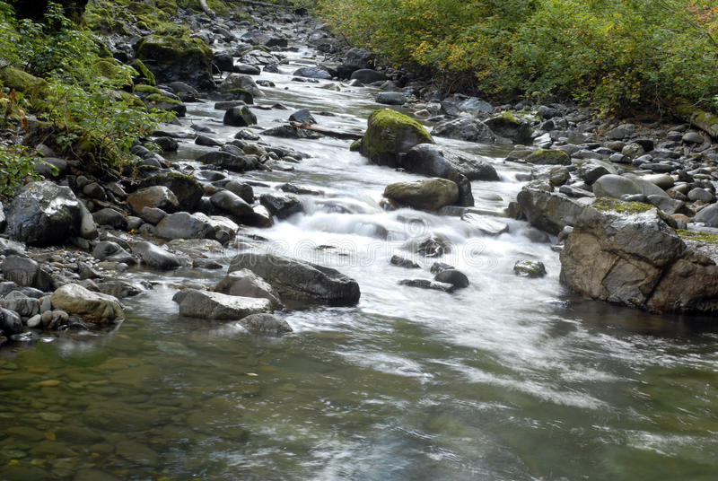 De Stroom van de cascade royalty-vrije stock foto
