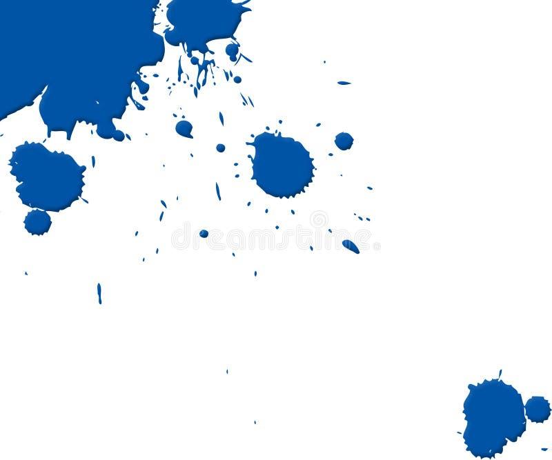 De stroom van de inkt vector illustratie