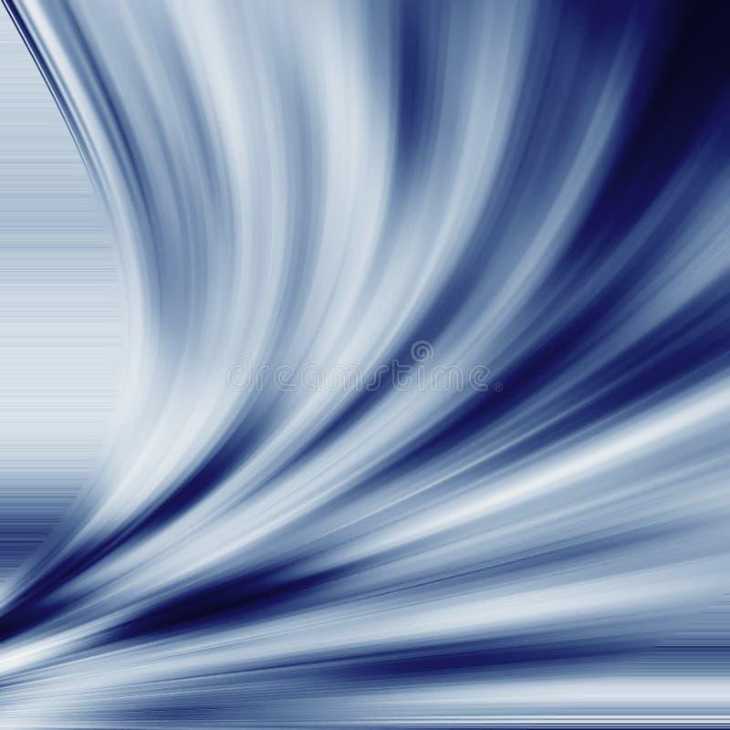 De stroom van de zijde stock illustratie