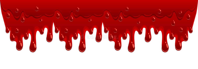 De stroom van het bloed royalty-vrije illustratie