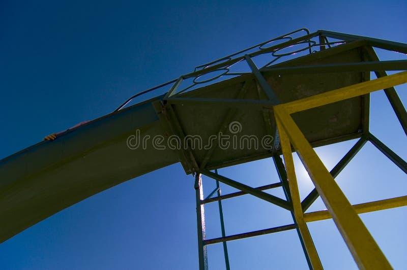 De structuur van de dia. stock fotografie