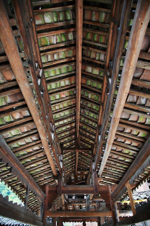 De structuur van het dak royalty-vrije stock afbeelding