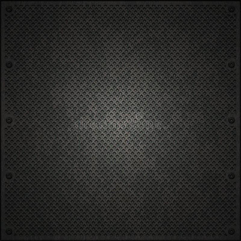 De structuur van het metaal vector illustratie