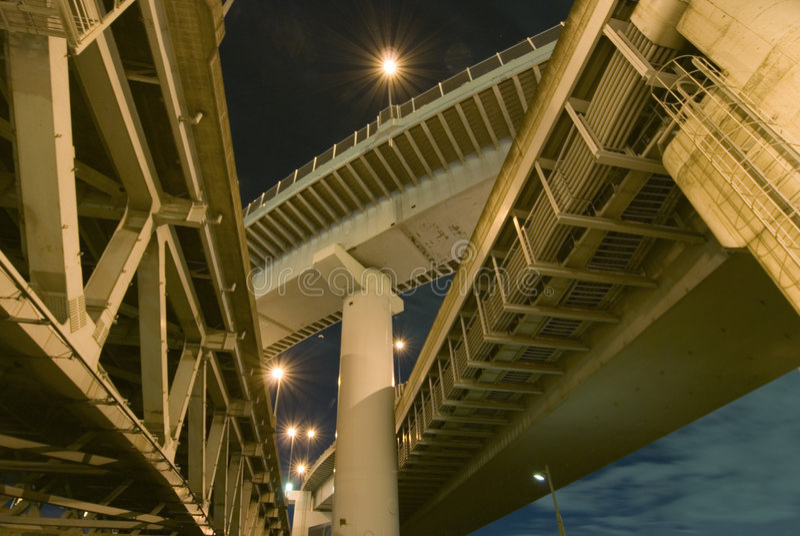 De structuur van wegen stock fotografie