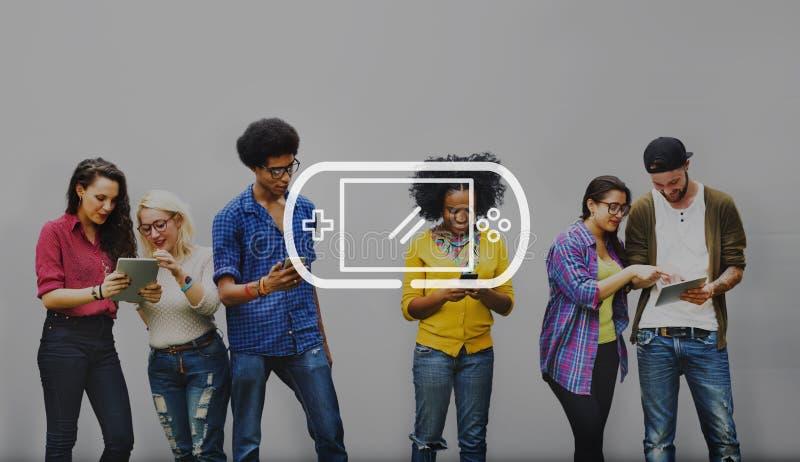 De Student Relationship Team Concept van de collega'sverbinding royalty-vrije stock foto