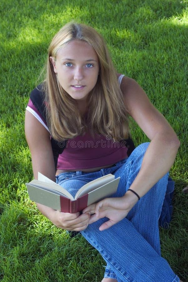 De Student van de tiener royalty-vrije stock foto