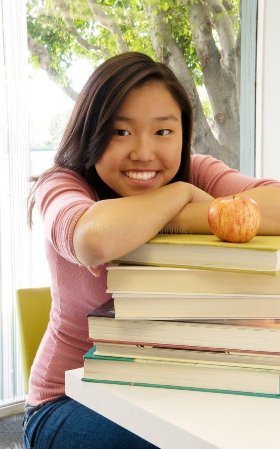 De Student van de tiener stock foto