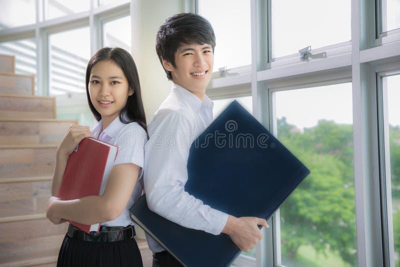 De studenten van Azië stock fotografie