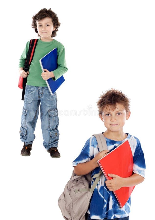 De studenten van kinderen royalty-vrije stock foto
