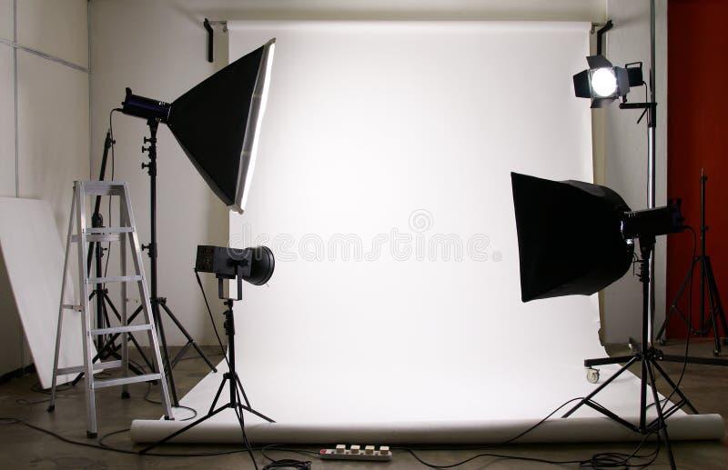 De studio van de fotografie royalty-vrije stock afbeelding