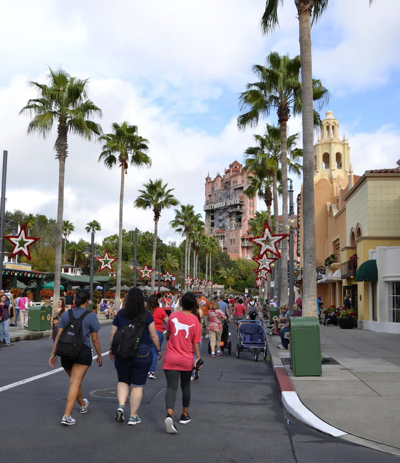 De Studio van Disney ` s Hollywood royalty-vrije stock foto's