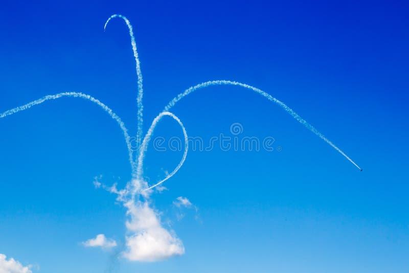 De stunt van Aerobatic stock afbeelding