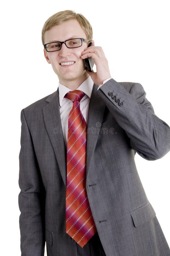 De succesvolle zakenman royalty-vrije stock foto