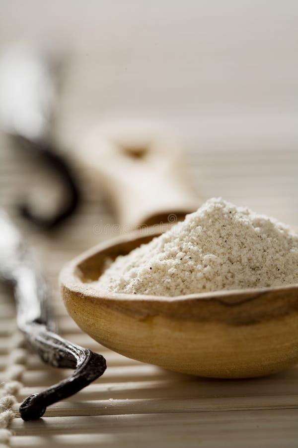 De suiker van de vanille royalty-vrije stock fotografie