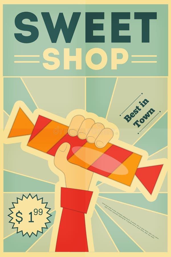 De Suikergoedwinkel vector illustratie