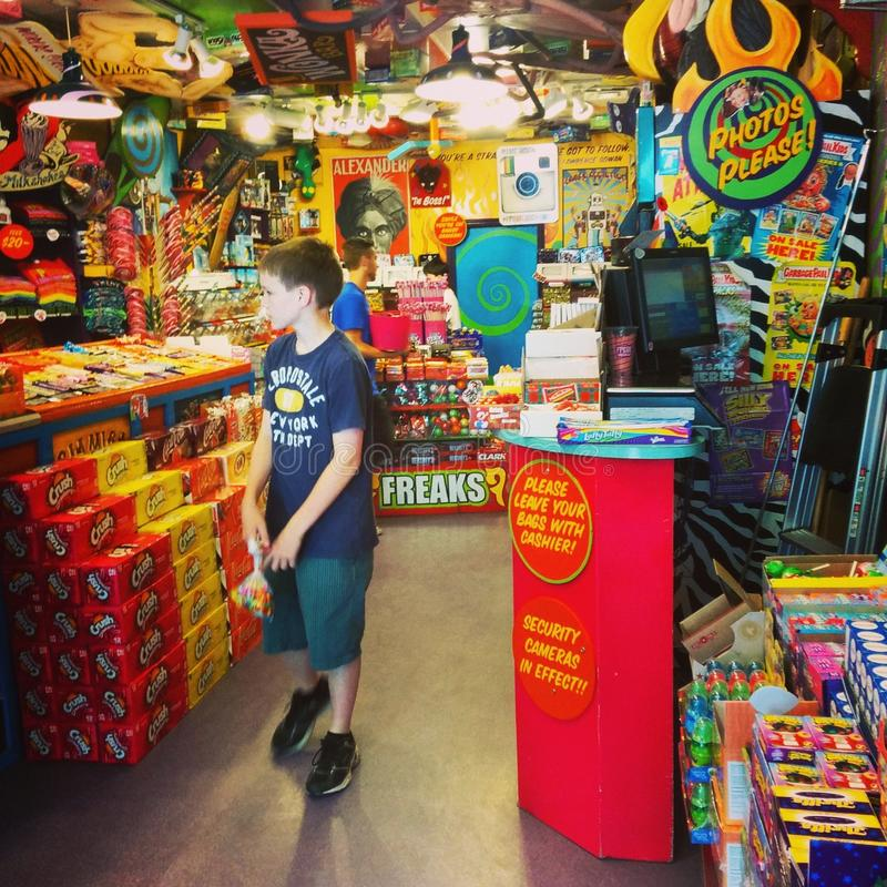 De Suikergoedwinkel royalty-vrije stock afbeelding