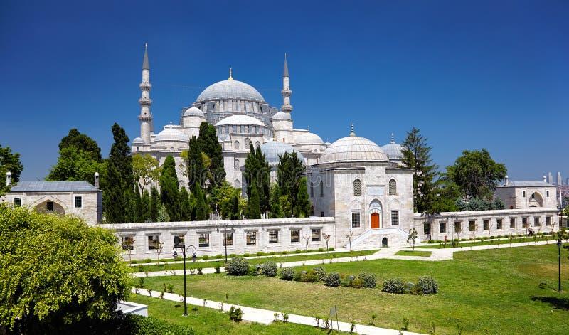 De Suleymaniye-Moskee royalty-vrije stock foto
