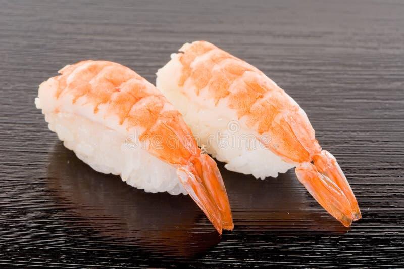 De Sushi van Ebi royalty-vrije stock foto's