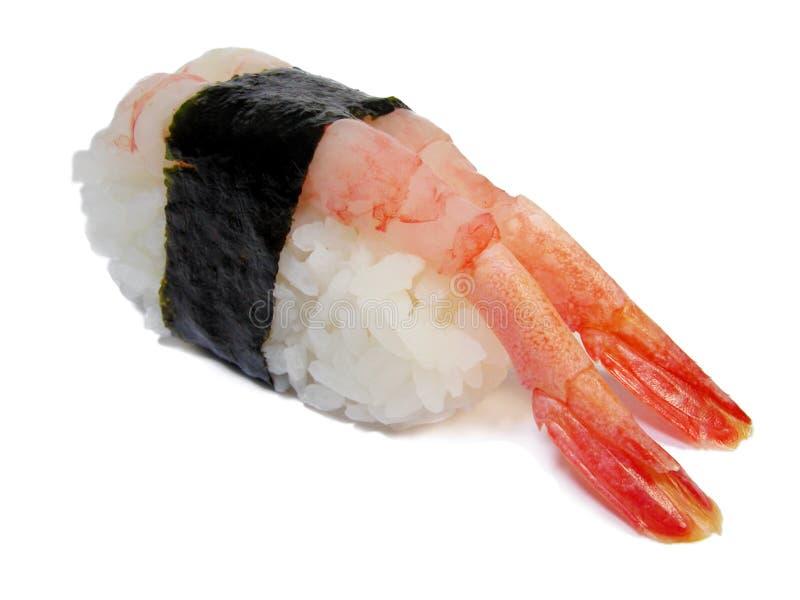 De sushi van garnalen stock foto's