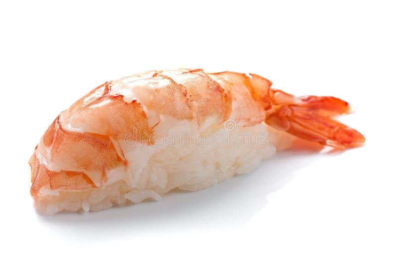 De sushi van garnalen stock afbeeldingen