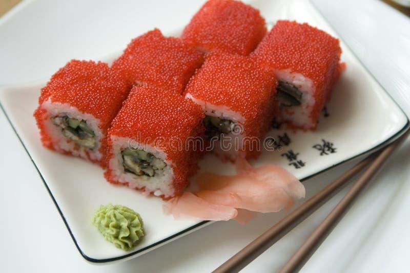 De sushi van Maki royalty-vrije stock afbeelding