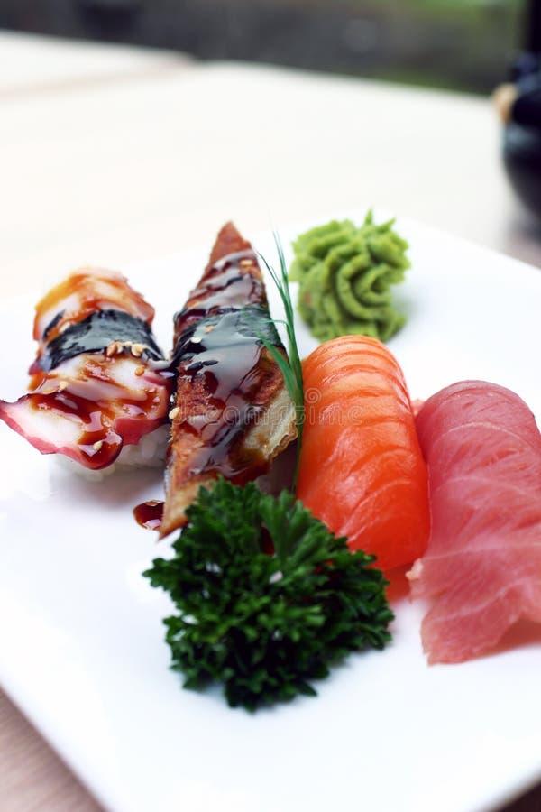 De Sushi van Nigiri stock foto