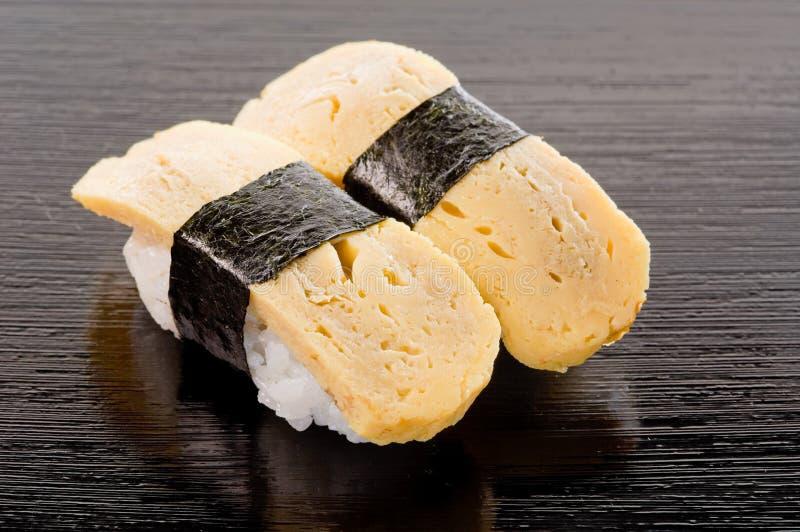 De Sushi van Tamago stock fotografie