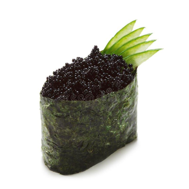 De Sushi van Tobiko royalty-vrije stock fotografie