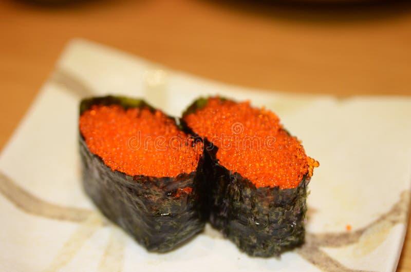 De Sushi van Tobikogunkan royalty-vrije stock afbeelding