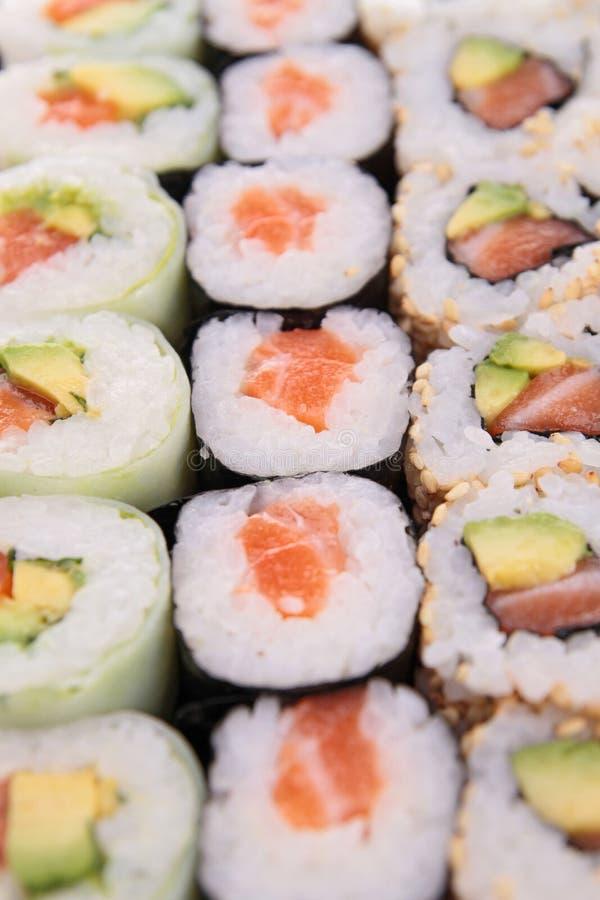 De sushibroodje van Maki stock foto