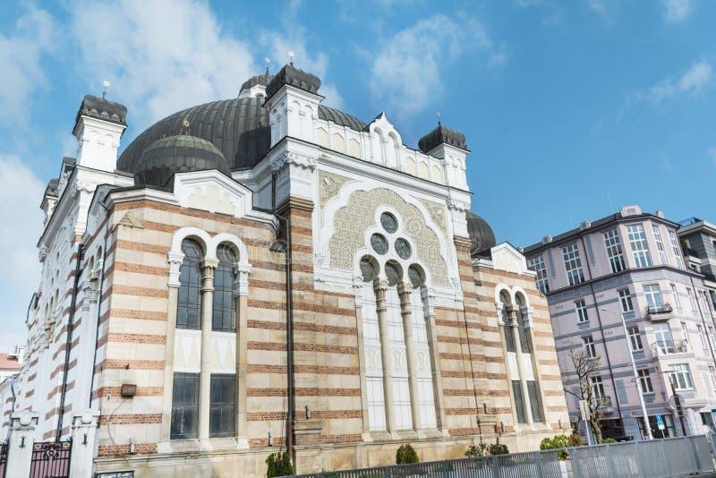 De Synagoge Bulgarije van Sofia royalty-vrije stock foto's
