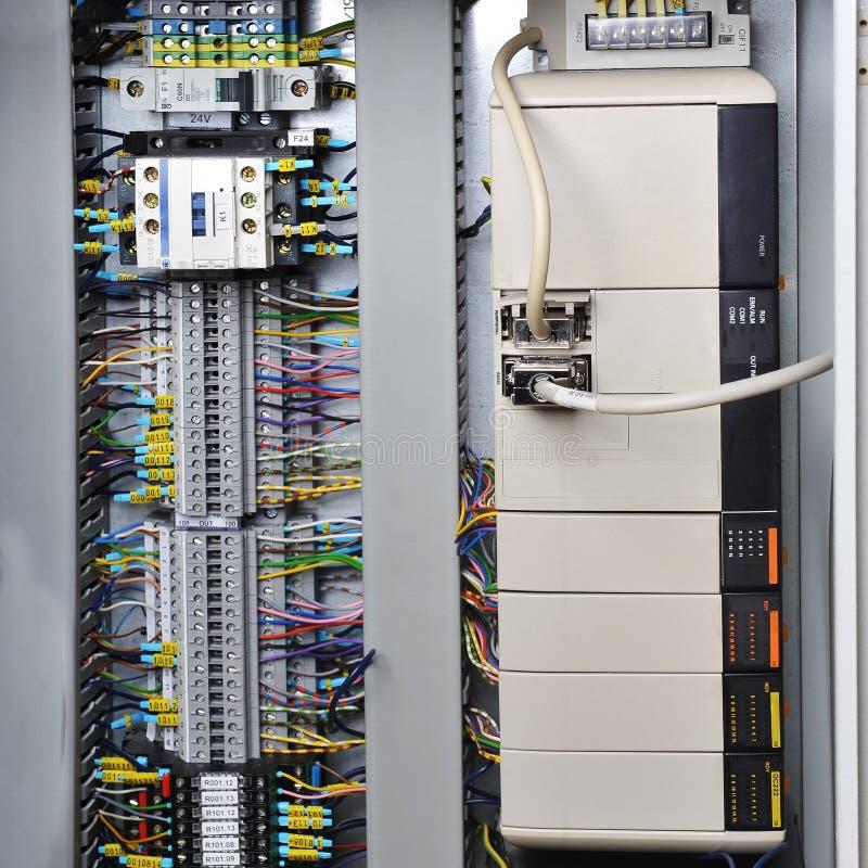 De systemen van de elektronikacontrole stock afbeelding