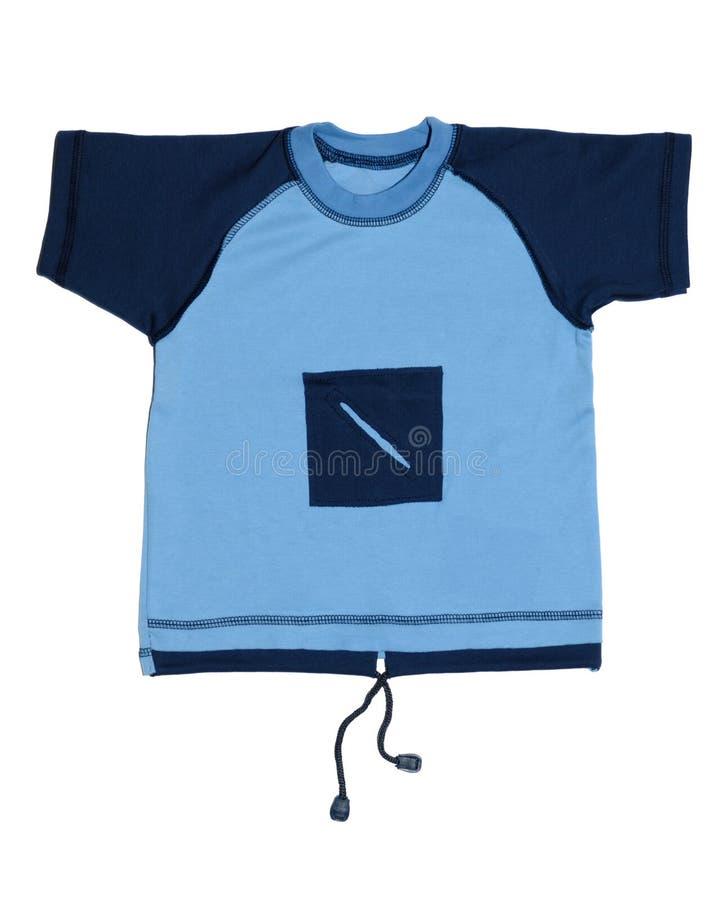 De T-shirt van de jongen stock fotografie