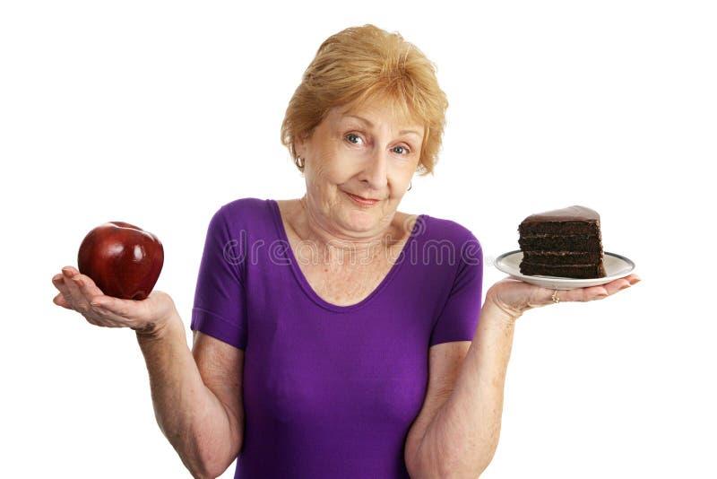 De taaie Keuzen van de Voeding royalty-vrije stock afbeelding