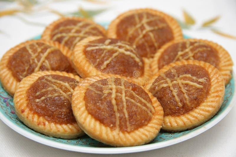 De taartjes van de ananas stock foto's