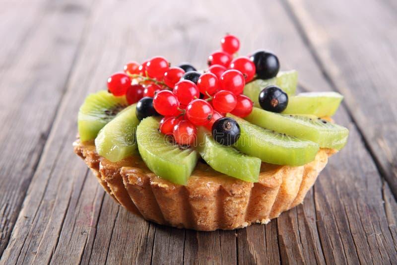 De taartjes van het fruitdessert stock afbeeldingen
