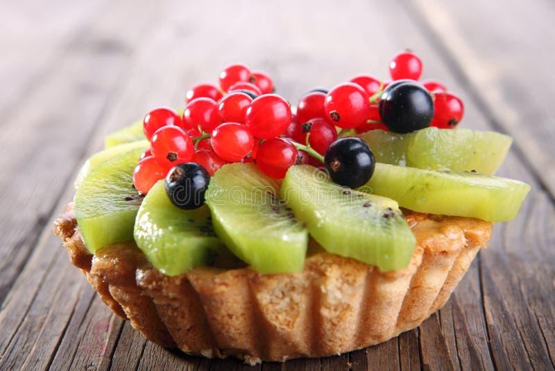 De taartjes van het fruitdessert royalty-vrije stock foto's