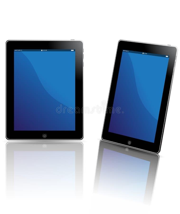 De tablet van de computer royalty-vrije illustratie