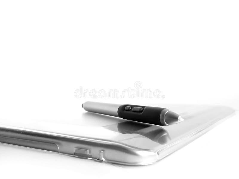De tablet van de computer stock afbeeldingen