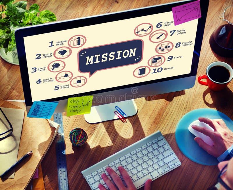 De Tactiek Grafisch Concept Strategiemethodes van de bedrijfs van Analytics royalty-vrije stock foto