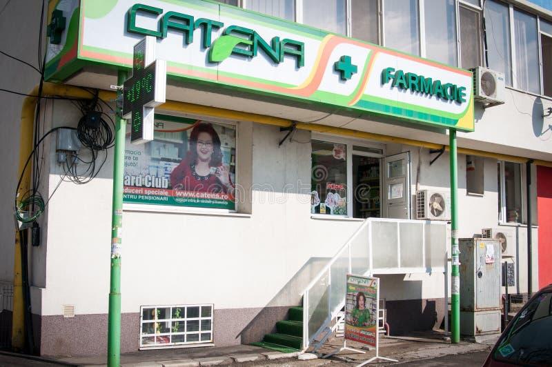 De tak van de Catenaapotheek stock fotografie