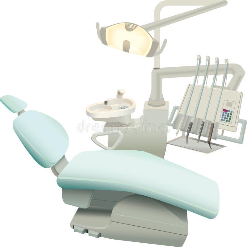 De tandchirurgieapparatuur vector illustratie