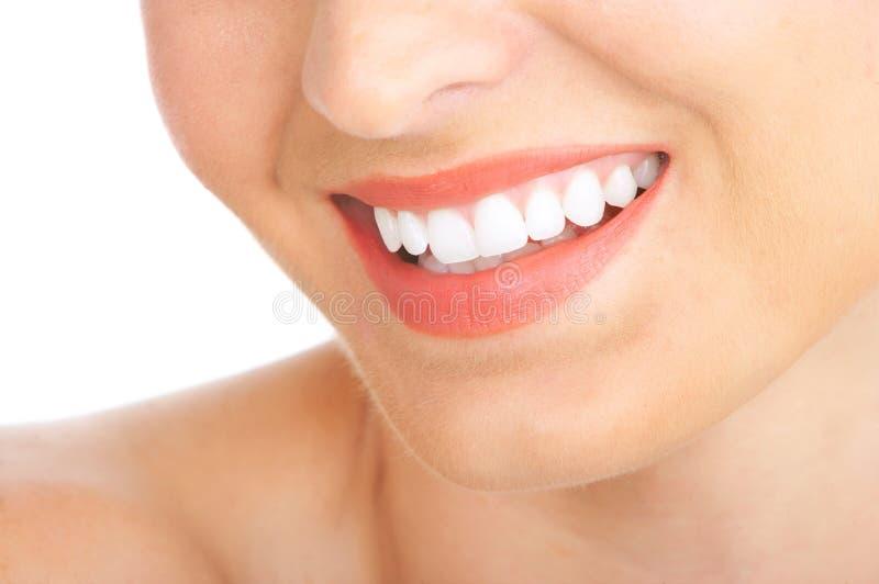 De tanden van de vrouw royalty-vrije stock foto